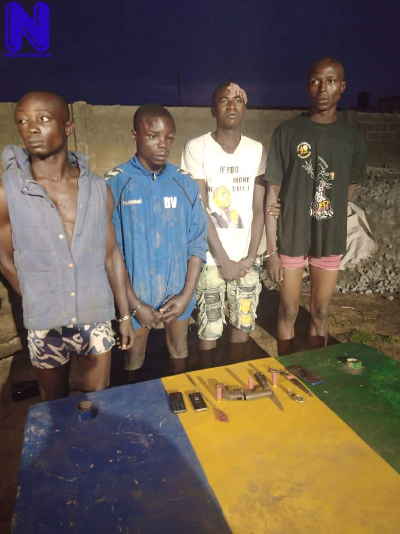 Four arrested during cult supremacy battle in Ogun - Cultism IMG-20210718-WA0014
