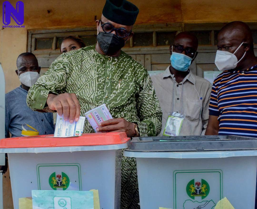 Low turnout as OGSIEC officials await voters - Ogun LG polls IMG-20210724-WA0026133189