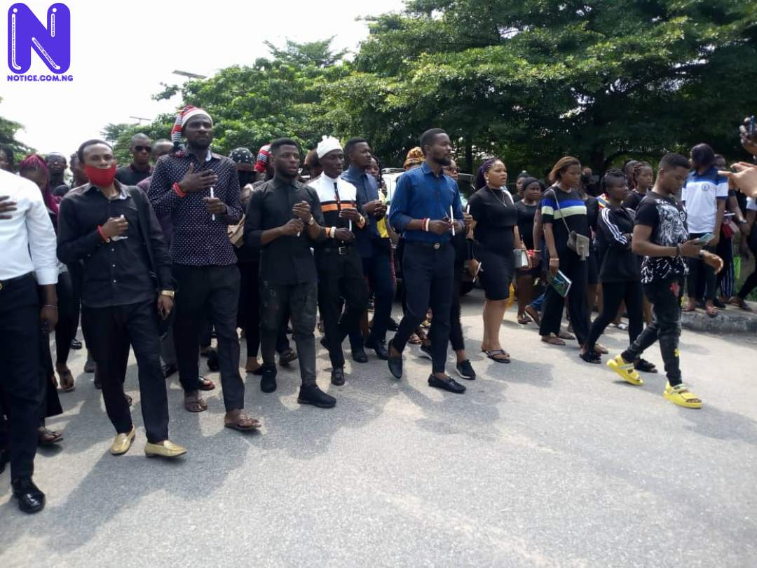 Akwa Ibom Polytechnic Rector join candlelight procession for deceased NYSC members IMG-20210731-WA0002-1103781