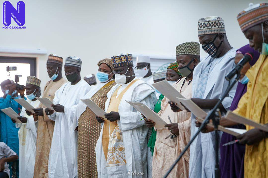 Governor Mohammed tasks head of service, perm secs on judicious use of state's resources - Bauchi IMG-20210918-WA001199796