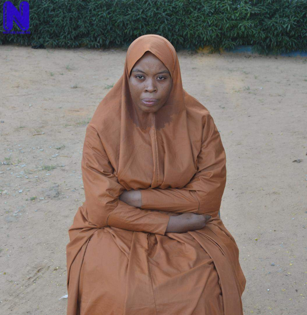 Police arrest notorious female fraudster in Kano IMG-20210921-WA0005109188