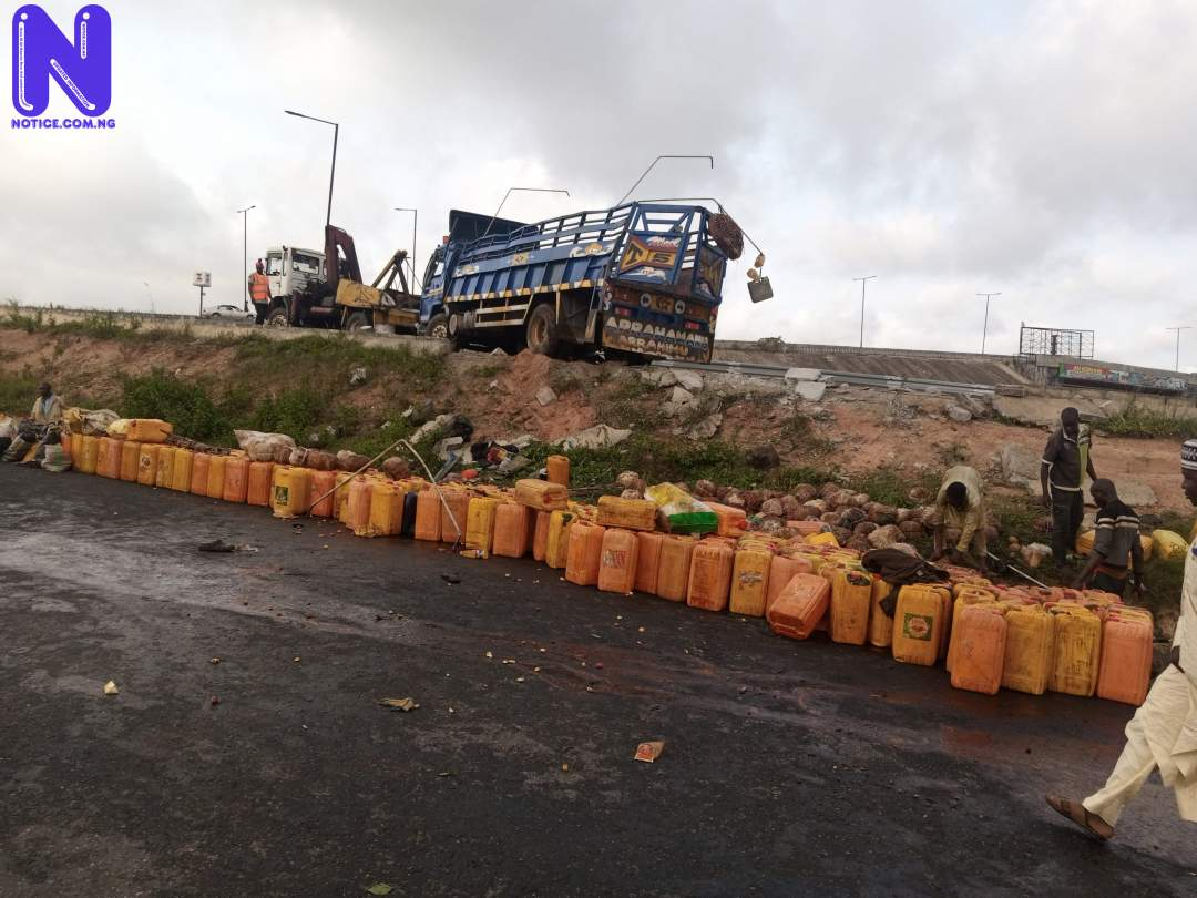 Eight passengers die as truck descends from bridge in Osun IMG 20210501 080229 216-SCALED