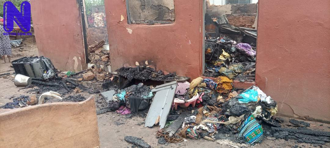Family of 15 escape as fire razes furniture shops in Edo IMG 20210611 090304 783-SCALED