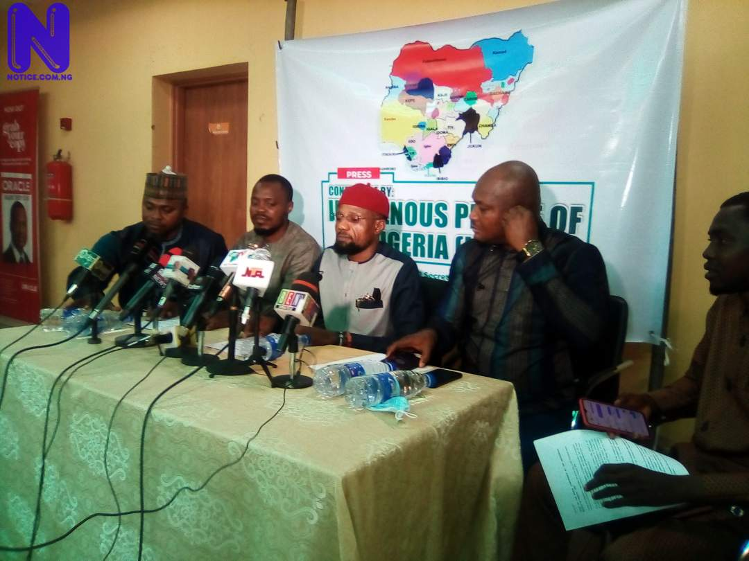 Indigenous People of Nigeria scores Buhari government low, backs Southeast for Presidency IMG 20210716 114958 3