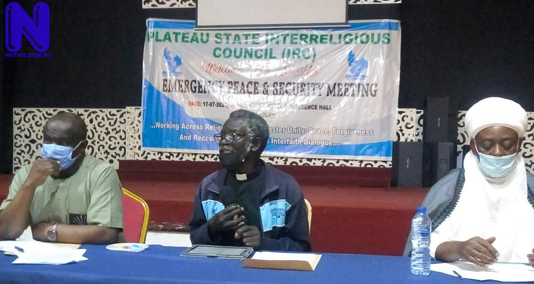 Fish out bad elements in your communities, religious circles – Interreligious Council tells stakeholders - Plateau unrest IMG 20210717 150732 490