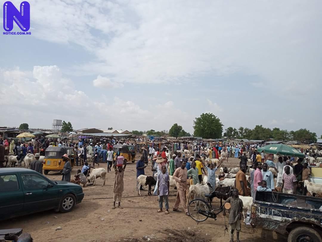 Ogun CP kicks as ram sellers cause gridlock on Lagos-Ibadan highway - Eid-el-Kabir IMG 20210719 153703 997-SCALED