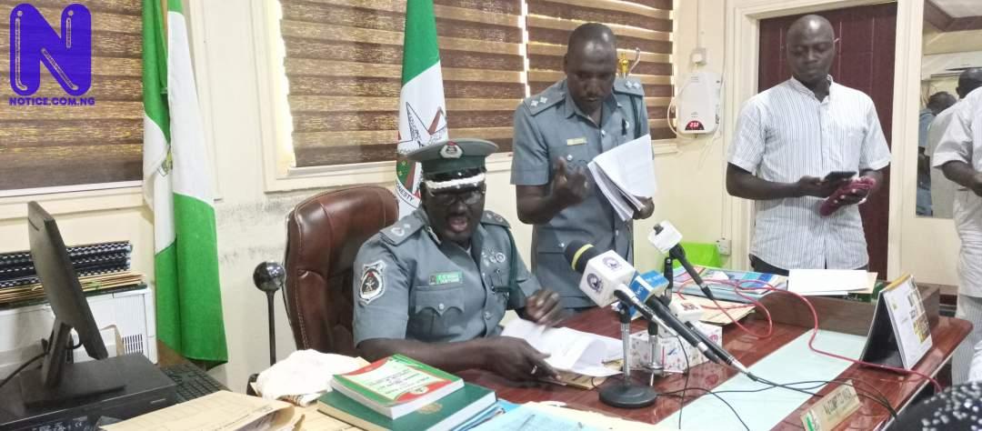 Smugglers inciting Katsina youths against customs officers – CG Wada raises alarm IMG 20211011 135410 213-SCALED468835