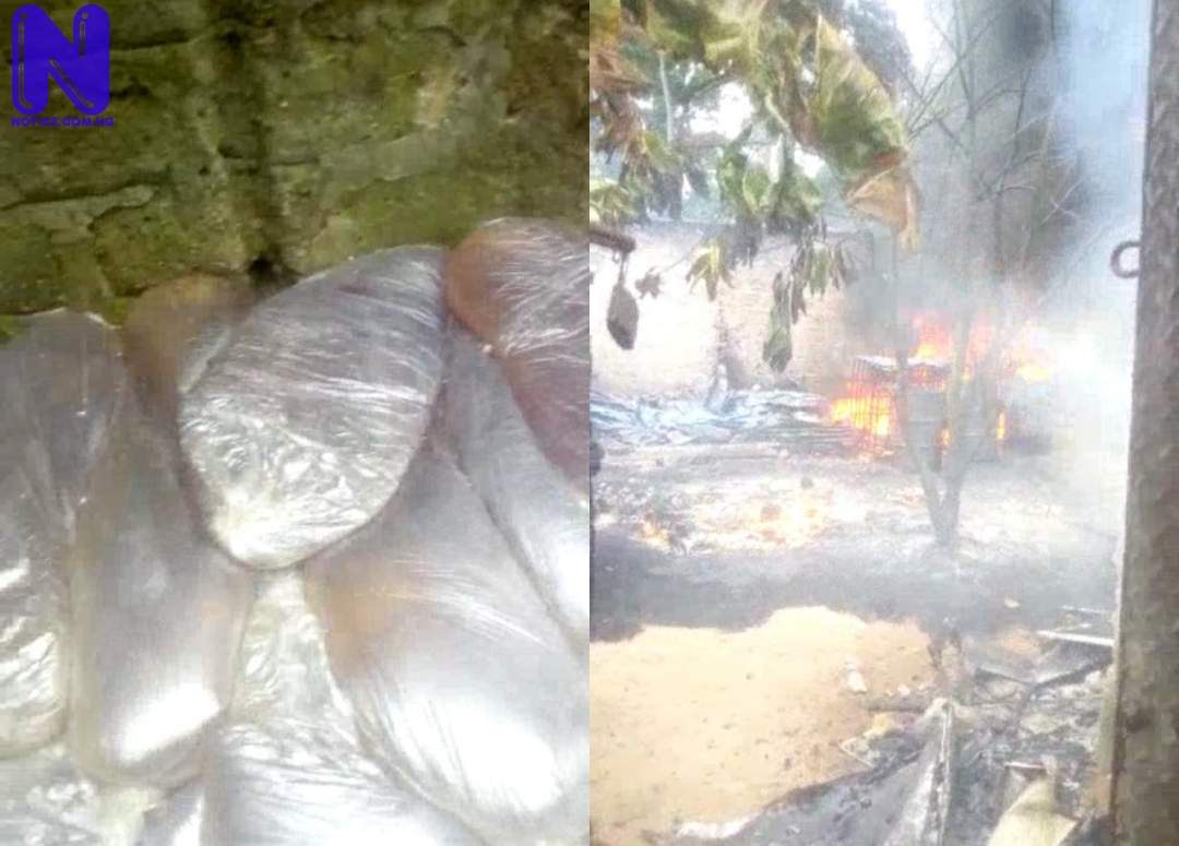 One injured as fire breaks out in illegal refining site in Rivers community IPIF3UM2221439