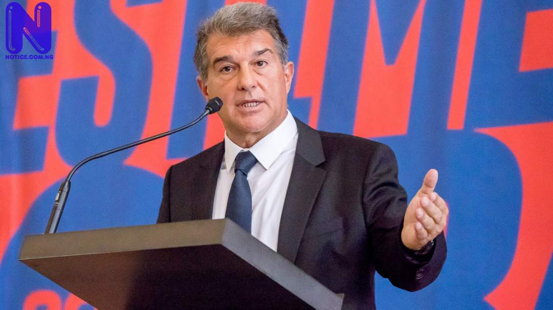 Barcelona president, Laporta reveals how they can win title this season - LaLiga JOAN-LAPORTA-BARCELONA-MESSI