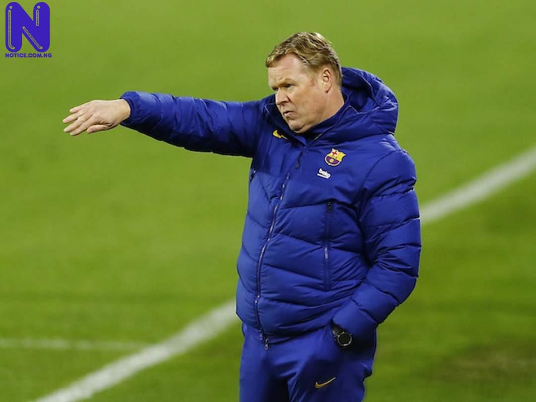 Koeman reveals why Barcelona lost 3-0 to Bayern Munich - Champions League KOEMAN85005