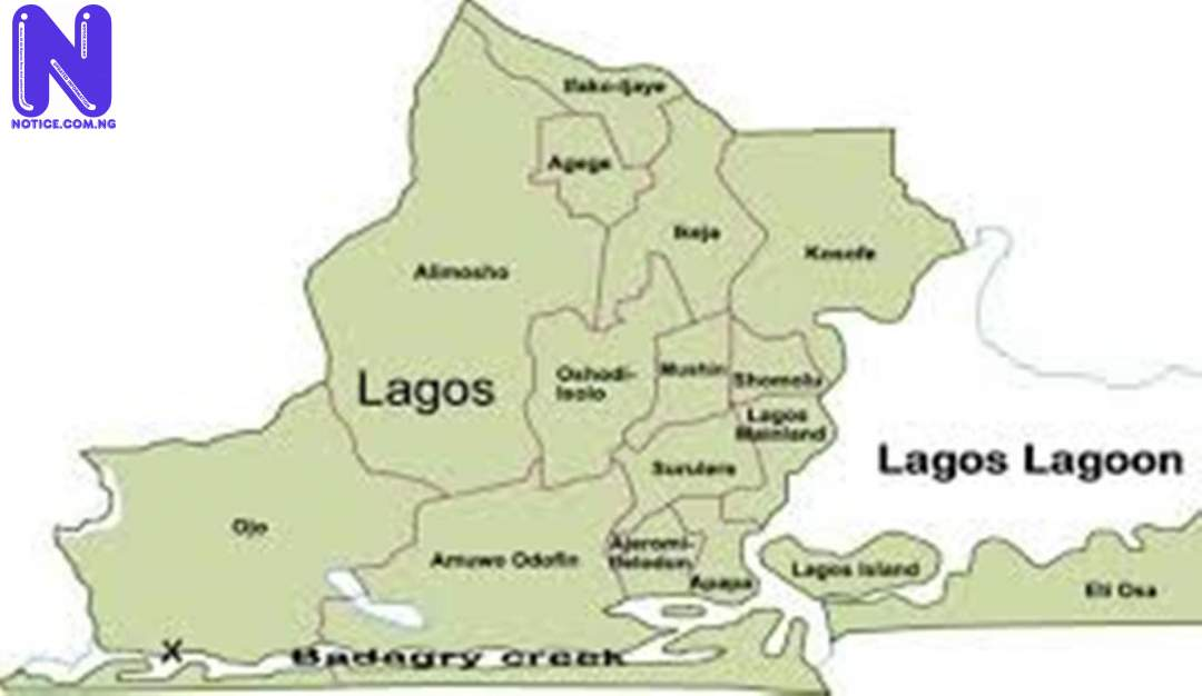 Lagos Government announces restriction of movement for LG poll LAGOS-MAP69091