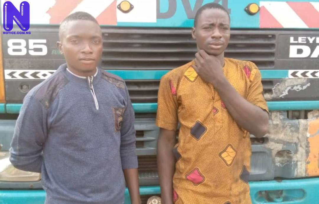 NSCDC arrests two, intercepts truck loaded with 33,000 litres of petrol (PHOTOS) LBNUL6YW