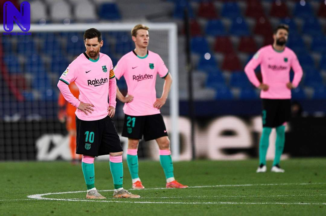 Barcelona's LaLiga title hopes suffer huge blow after 3-3 draw with Levante LEVANTE-3-BARCELONA-3-RONALD-KOEMANS-SIDE-FLUFF-CHANCE-TO-GO-TOP-OF-LA-LIGA-AFTER-THROWING-AWAY-LEAD-TWICE-SCALED-1