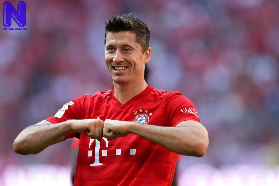 Guardiola set to switch Man City target from Harry Kane to Lewandowski - EPL LEWANDOWSKI