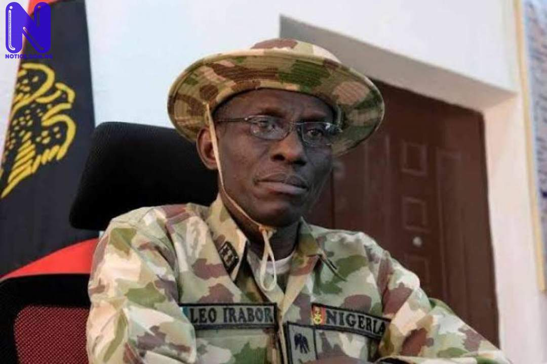 Army debunks report of terrorists camping around Abuja, Niger MAJOR-GENERAL-LEO-IRABOR-CHIEF-OF-ARMY-STAFF-1200X801-1110531