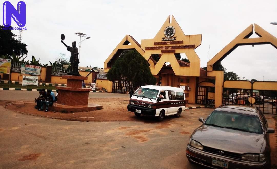 Michael Okpara University students protest hostile learning environment MICHAEL-OKPARA-UNIVERSITY-