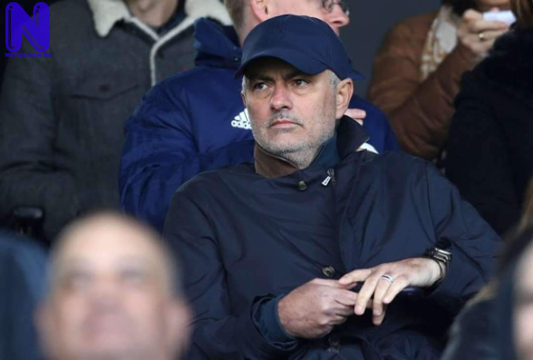 Tottenham confirms new coaching team after Mourinho's sack - EPL MOURINHO-1