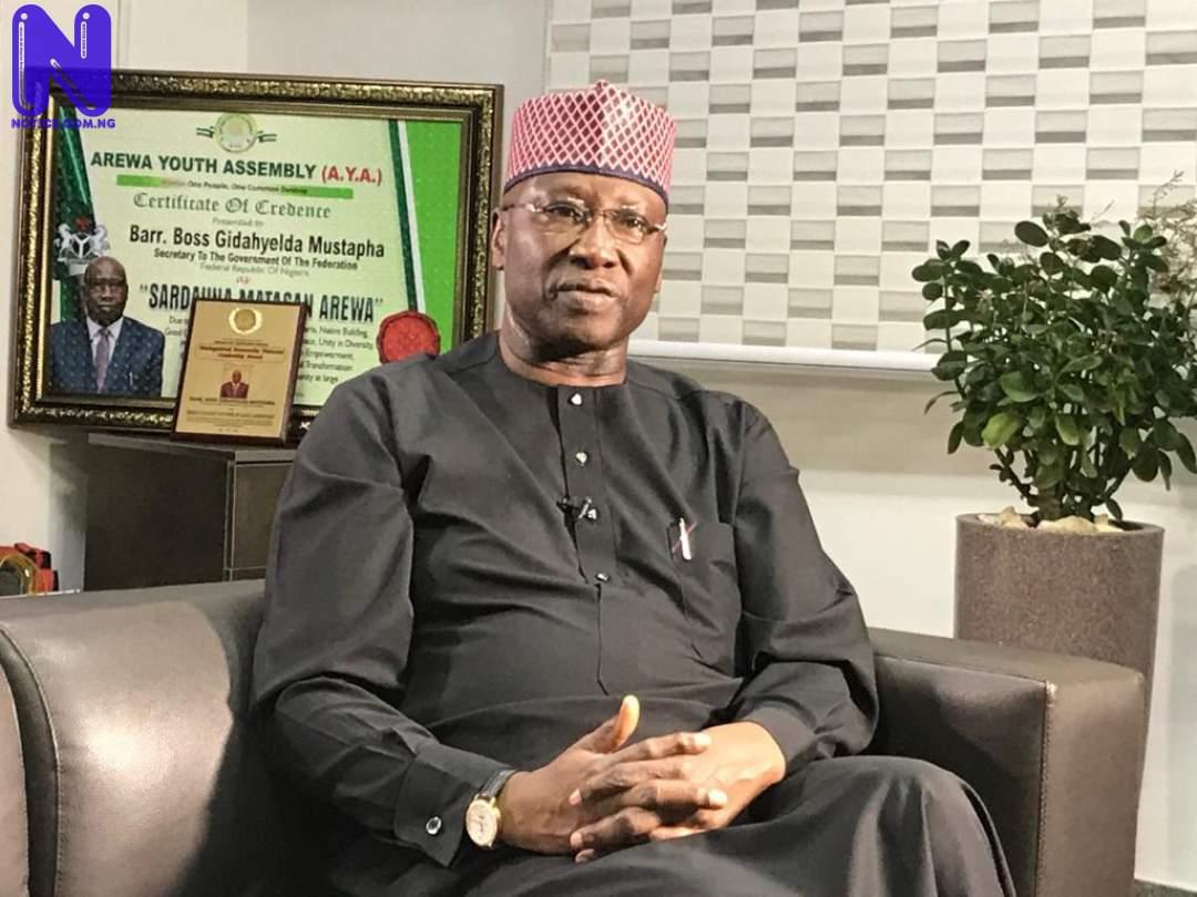 Boss Mustapha denies calling Nigerian People to submit CV - Recruitment MUSTAPHA