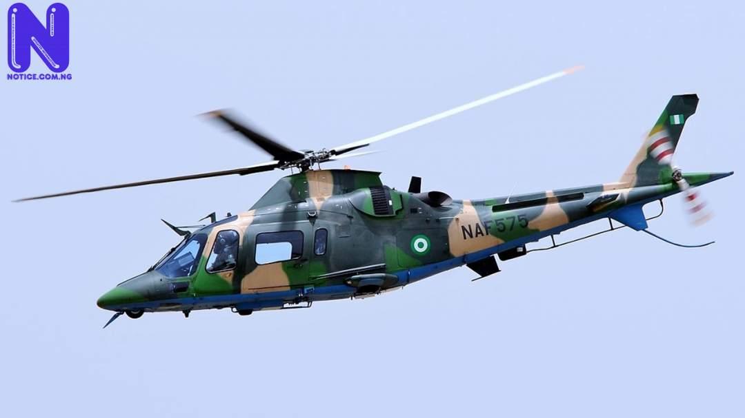 NAF jet bombs 'Buhari village' over Boko Haram, ISWAP camps - Yobe NAF57002