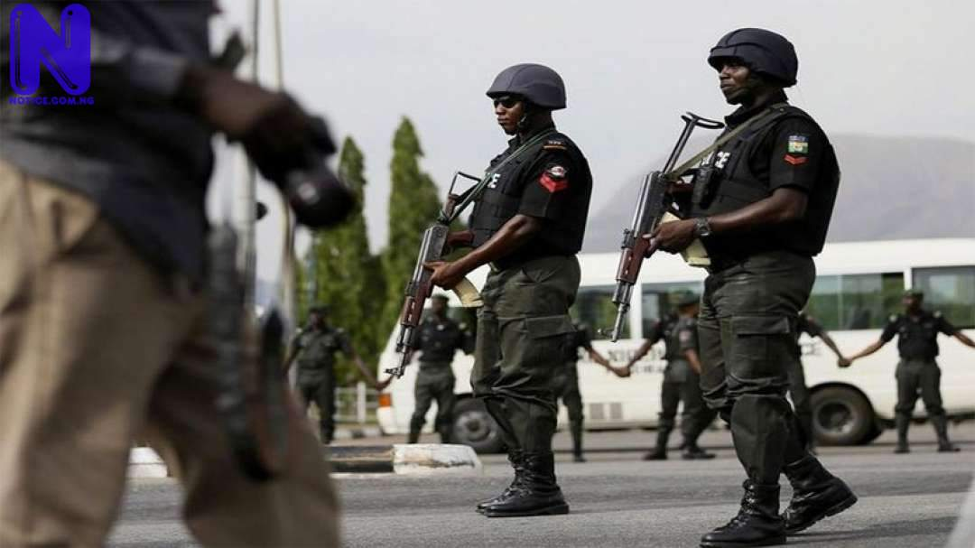 Nigeria Police arrest 10 traffic robbers in Lagos NIGERIA-POLICE