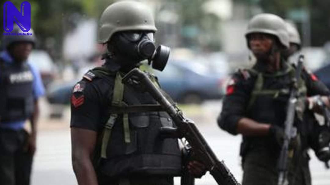 Police, hunters arrest teenage female armed robbery gang - Osun NIGERIAN-POLICE-278332
