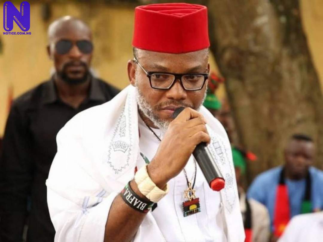 Decision to remain as one Nigeria can not be determined by Lugard – Nnamdi Kanu NNAMDI-KANU-
