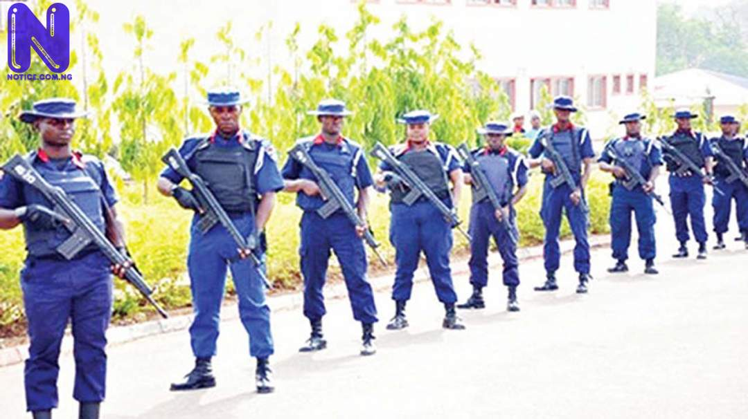 NSCDC arraign two over alleged rape of teenagers in Ibadan NSCDC-PHOTO103374