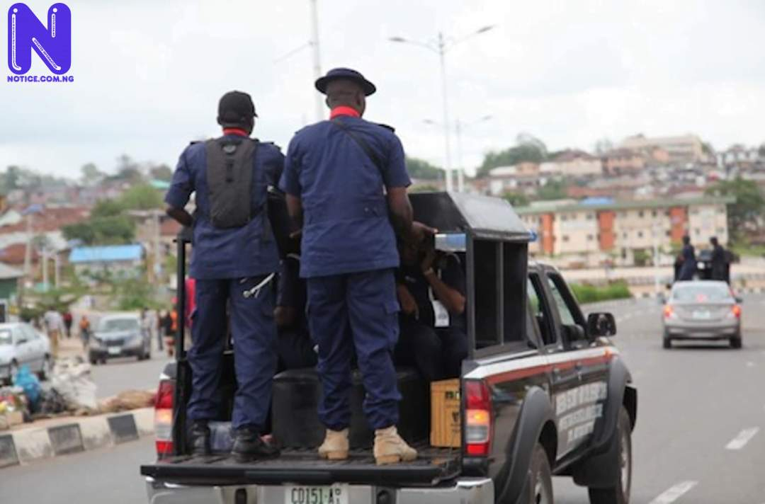 NSCDC discovers newborn baby dumped in pit latrine NSCDC438389