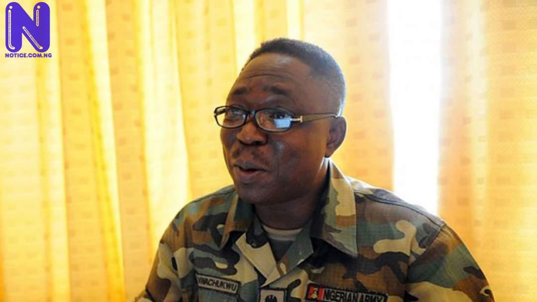 Disregard doctored video aimed at denigrating us – Nigerian Army NWACHUKWU-ONYEMA88134