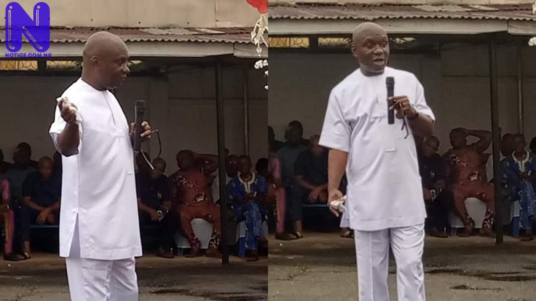 Shun mischief, make suggestions when necessary – Abia Speaker, Orji urges constituents NXBJCXVY167298