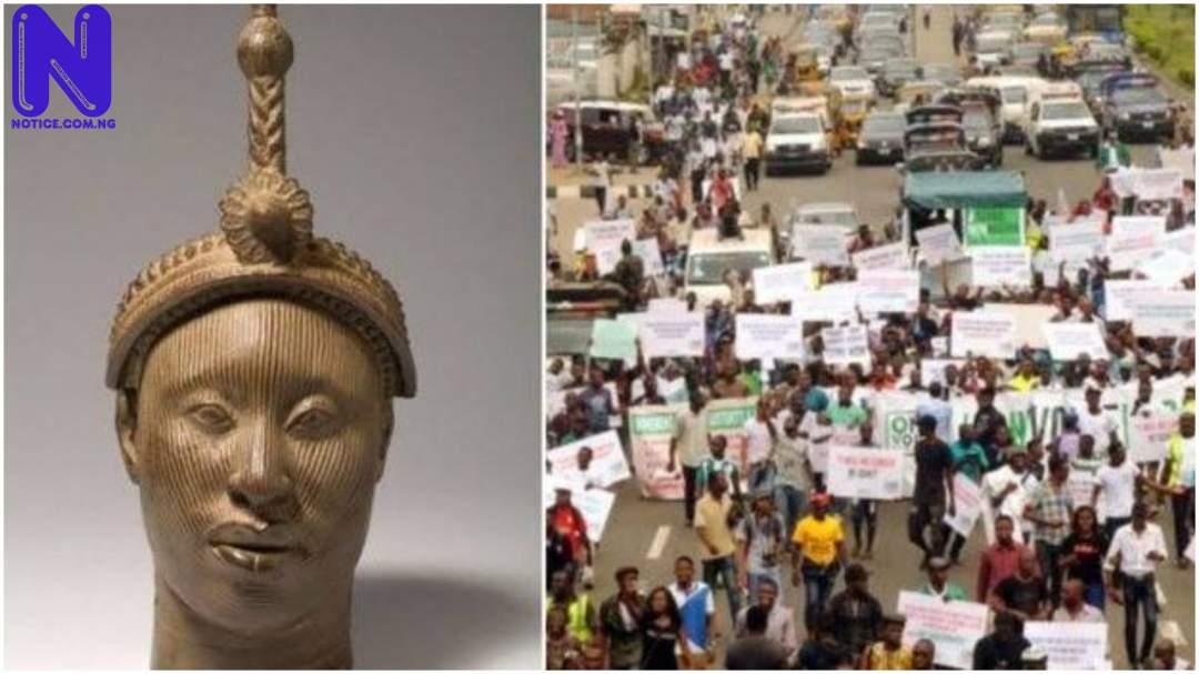 Yoruba nation rally holds in Abeokuta despite police ban (VIDEO) - Oduduwa Republic ODUDUWA