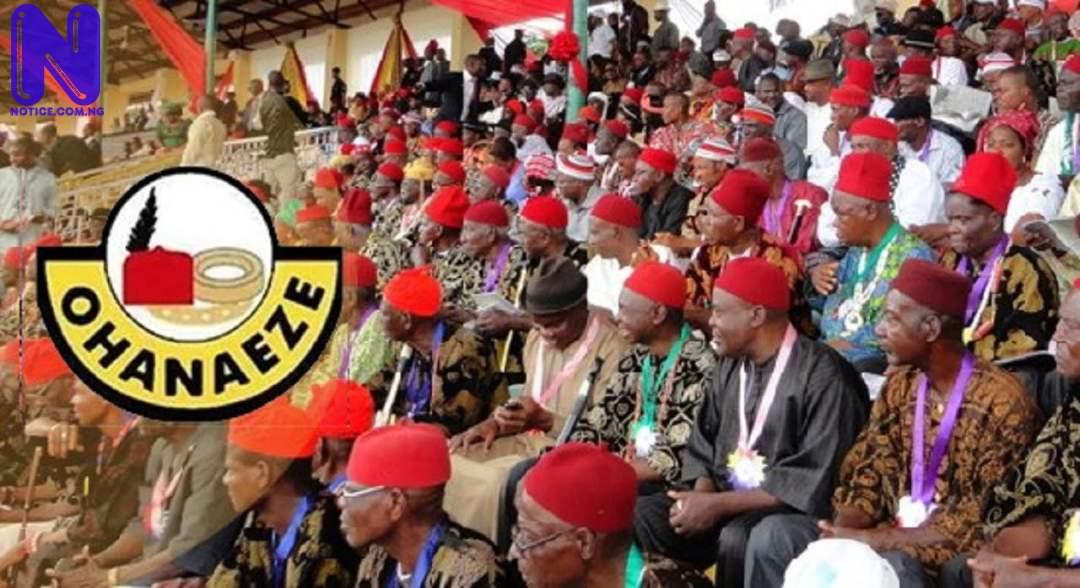 Ohanaeze hails South-East NASS caucus intervention - Nnamdi Kanu OHANAEZE166549