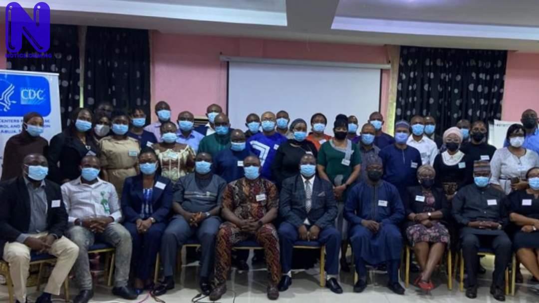 US CDC trains 40 Nigerian health officials on emergency response OIL9KPYB188253