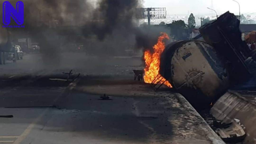 3 confirmed dead, 50 tricycles burnt in Adamawa tanker explosion ONITSHA-1-137224