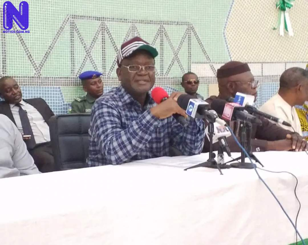 Ortom commends Benue workers, assures continuous support to them - May Day ORTOM-1