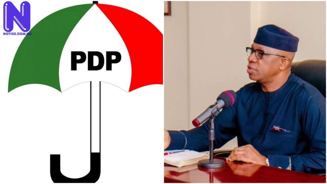 PDP, Abiodun exchange words over campaign materials - Ogun LG polls PDP-ABIODUN-