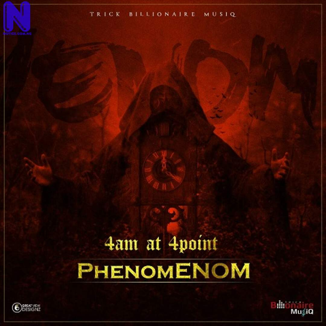 Download Music Video: Phenom – 4 AM At 4 Points PHENOM-4-AM-AT-4-POINTS-ARTWORK