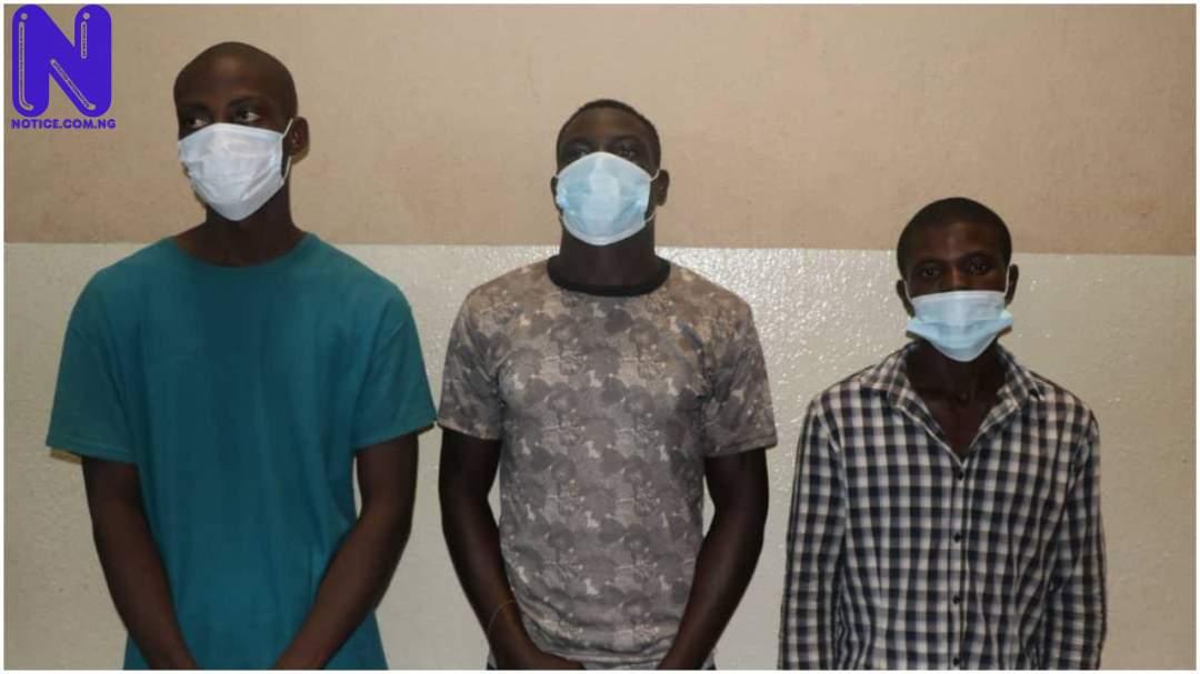 Police arrest three suspected killers of Chef Emeka in Abuja PJIMAGE-19148194