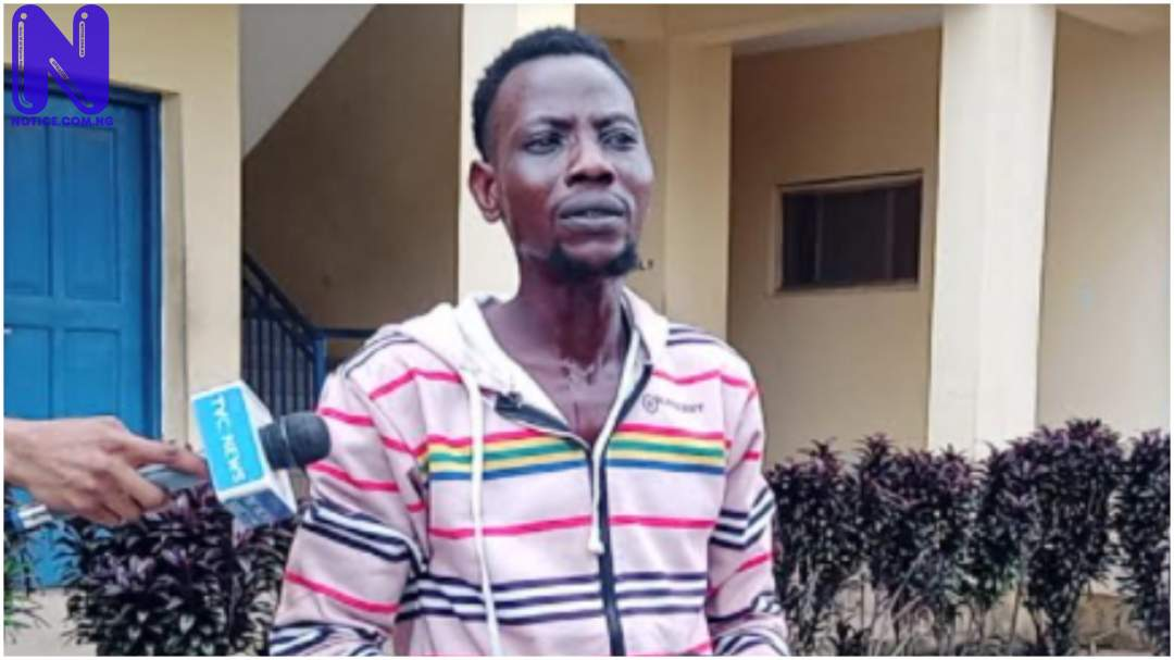 40 years old man arrested in Apomu for killing, butchering lady for ritual PJIMAGE-36-1