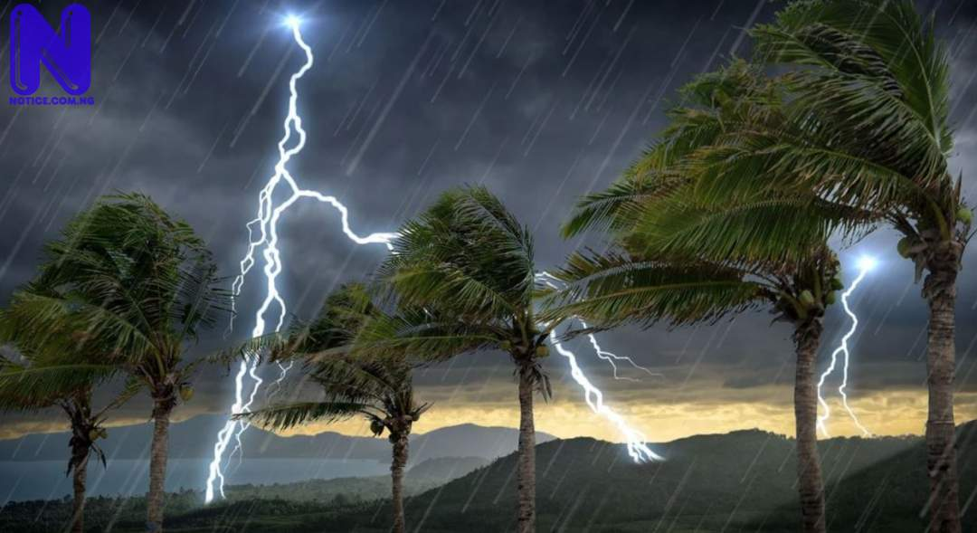 NiMet predicts 3-day rain, thunderstorms across states RAIN-AND-THUNDERSTORM1777126