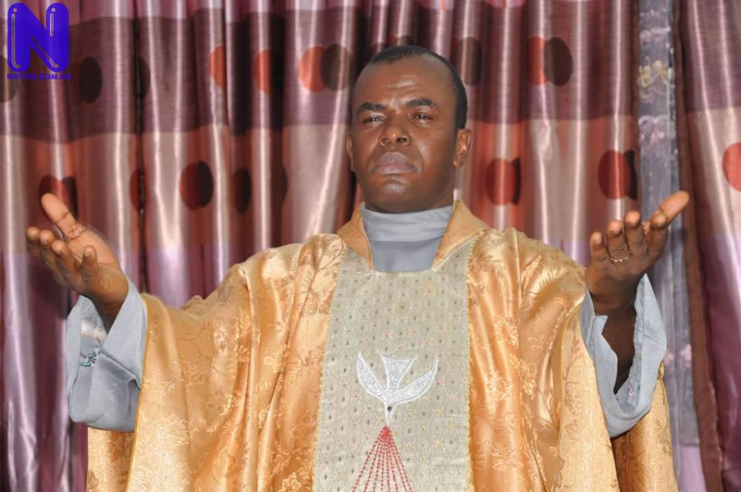 Fr Mbaka makes U-turn, calls for Buhari's impeachment REV-FATHER-MBAKA-1