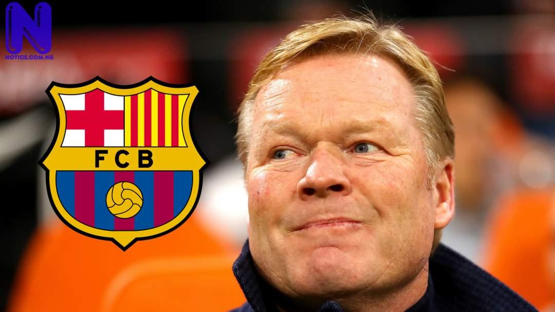 Why Barcelona drew 3-3 with Levante – Koeman - LaLiga RONALD-KOEMAN