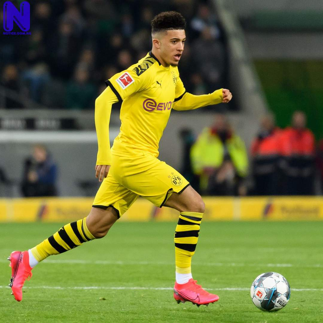 Dortmund reduce transfer fee for Man Utd target Sancho with 'gentleman's agreement' in place SANCHO