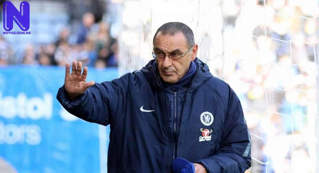 Sarri tells Lazio to make Chelsea star his first signing SARRI