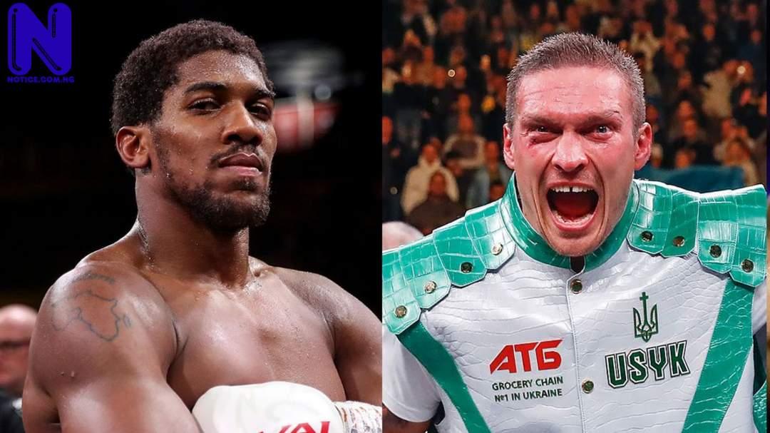 Details of fight date, venue, TV confirmed - Anthony Joshua versus Oleksandr Usyk SKYSPORTS-ANTHONY-JOSHUA-OLEKSANDR-USYK 5387155