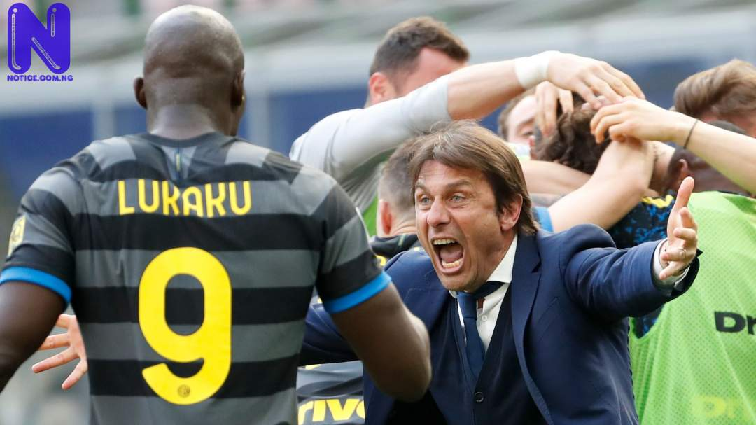 We'll go to sleep very happy says Conte reacts as Inter Milan win title - Serie A SKYSPORTS-INTER-MILAN-ANTONIO-CONTE 5363612