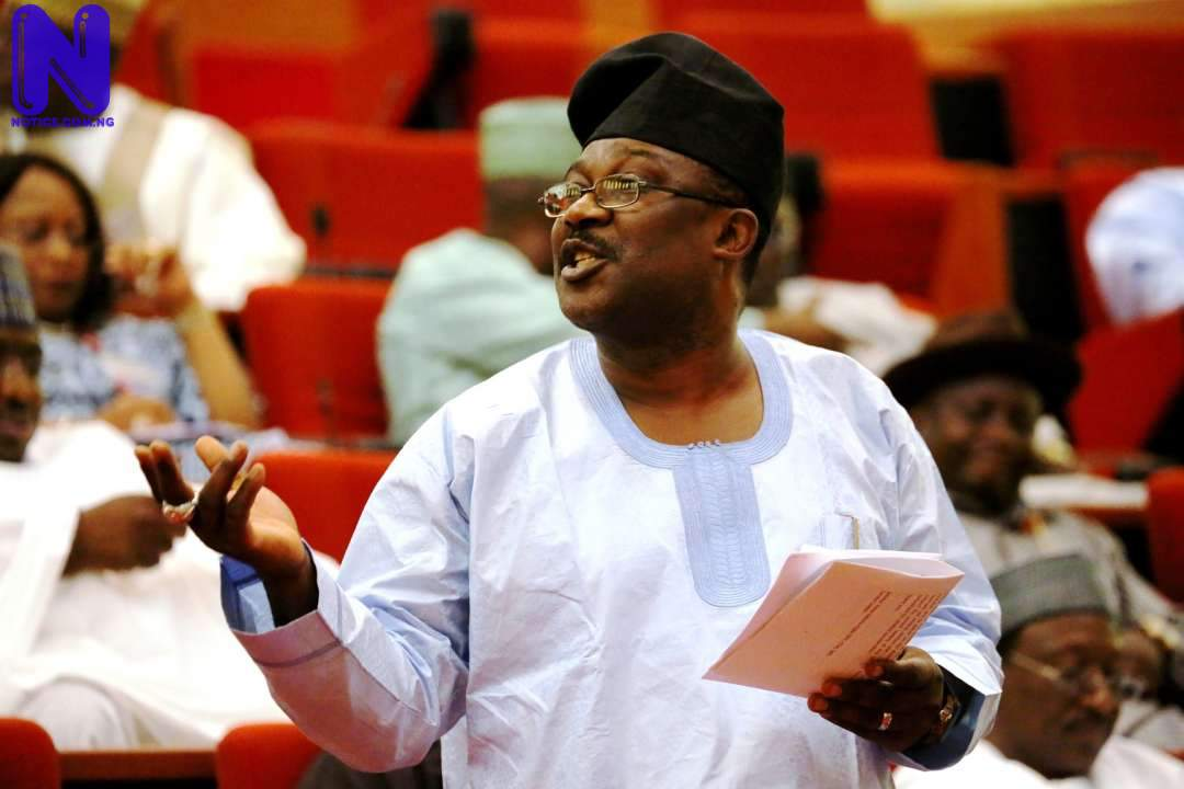 Senator Adeyemi weeps, says Nigeria on 'fire' - Insecurity SMART-ADEYEMI