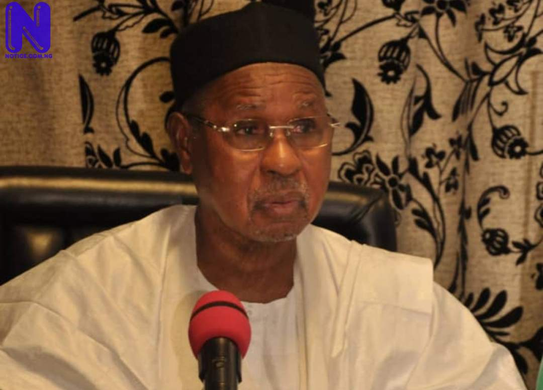 FG should be blamed for lack of security not Governors – Gov. Masari tells Buhari SN0BRSZM