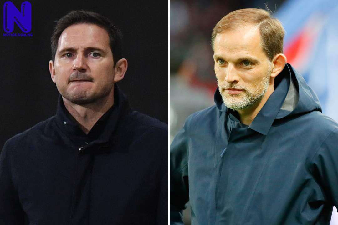 What Tuchel said about Lampard ahead of EPL clash - Chelsea versus Arsenal SPORT-PREVIEW-FRANK-LAMPARD-AND-THOMAS-TUCHEL-BETTING