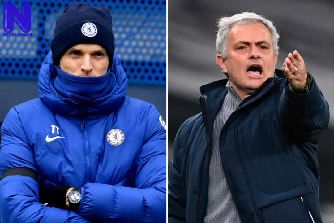 Tuchel breaks Mourinho's record after Chelsea beat Fulham 2-0 - EPL SPORT-PREVIEW-TUCHEL-AND-MOURINHO